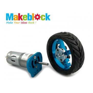 Kit de Motor de 25 mm Makeblock- Azul