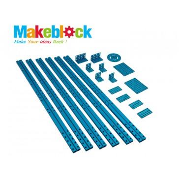 Kit de extensión para estructuras largas Makeblock - Azul