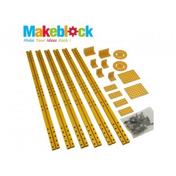 Makeblock estructura larga Kit de Extensión - Dorado