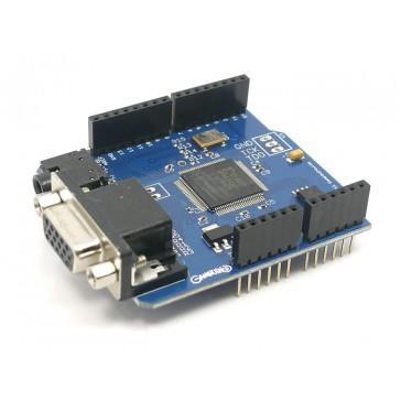 Gameduino - un adaptador de juegos para microcontroladores