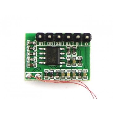 Mini Modulo RFID 125Khz - Puerto LED/Zumbador Externo (Distancia de Lectura 70mm)