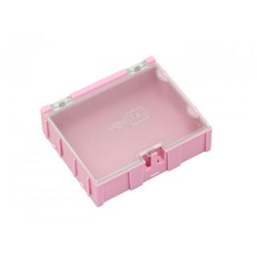 Caja grande de componentes 2 pcs rosa