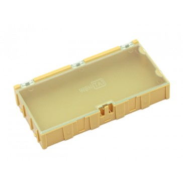 Caja extra grande de componentes 2 pcs amarilla