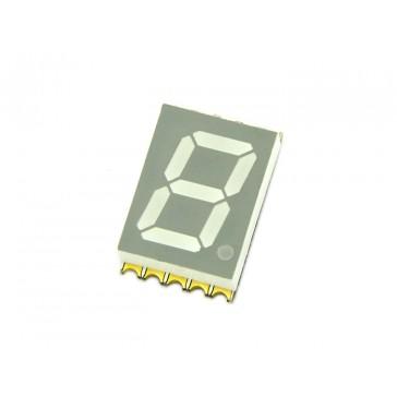 Display SMD un solo digito con 7 segmentos