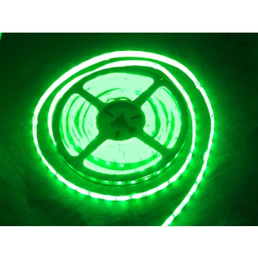 Tira flexible de LED verde impermeable - 60 LED - 1m