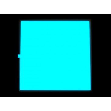 EL Panel - Luz Azul 10cm x 10cm