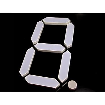 Lámpara de 7 segmentos - 8 pulgadas - Verde