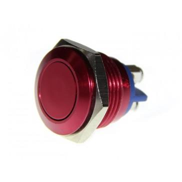 Botón de Metal 16mm Rojo