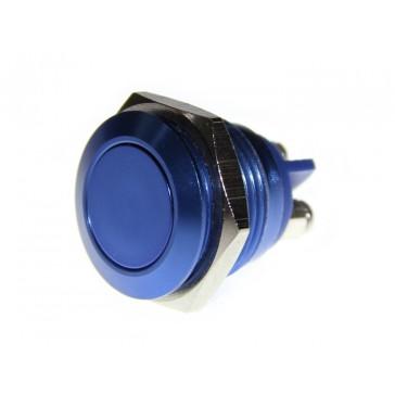 16mm Botón de metal Azul rey