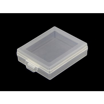 Estuche de almacenamiento de plástico - pequeña y transparente