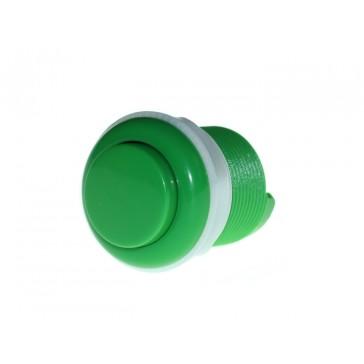 33mm Botón para juegos arcade Verde