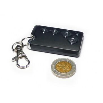Llavero inalámbrico para carro 315Mhz con cadena para llaves (batería incluida)