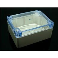 Caja de plástico claro de 60x90x120mm
