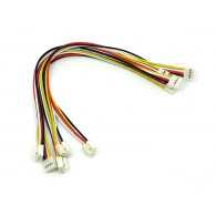 Grove - Universal 4 Pin Buckled 20cm Cable (5 piezas)