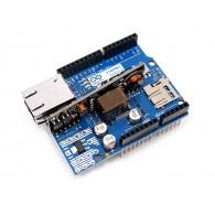 Shield de Arduino Ethernet Rev3 con Módulo POE (DESCONTINUADO)