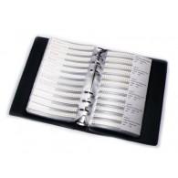 Libro de Capacitores SMT 0805 - 4,416 pz - 92 valores (DESCONTINUADO)