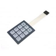 Membrana de Botones 3x4 con etiqueta engomada