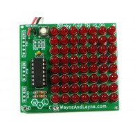 Blinky Cuadricula Roja LED
