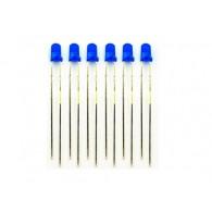 LED de 3mm azul - 100 Piezas (DESCONTINUADO)