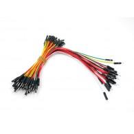 Paquete de cables puente para Protoboard - (200mm/100mm)