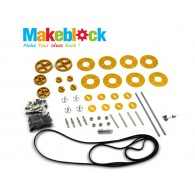 Kit de Bandas y Poleas MakeBlock – Dorado (DESCONTINUADO)