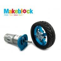 Kit de Motor de 25 mm Makeblock- Azul (DESCONTINUADO)