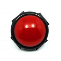 Enorme Botón Rojo - 80 mm