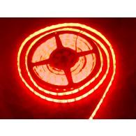 Tira flexible de LED roja impermeable - 60 LED - 1m