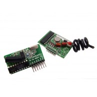 Kit enlace RF - largo alcance 2 km - codificador y decodificador