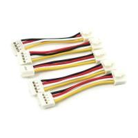 Grove - Cable de 4 pines universal, 5cm flexibles (Paquete de 5 piezas)
