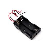 Soporte para 2 baterías AA