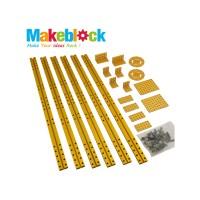 Kit de extensión para estructuras largas Makeblock - Dorado (DESCONTINUADO)