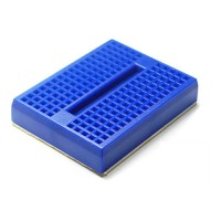Mini Protoboard de 4.5x3.5CM - Azul