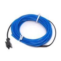 Cable Electroluminiscente Azul - 3m