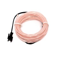 Cable Electroluminiscente Blanco - 3m