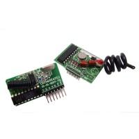 Kit enlace RF - largo alcance 2 km - codificador y decodificador