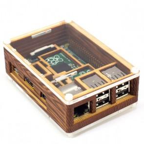 Carcasa Pibow para Raspberry Pi Modelo B+