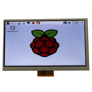 "Display LCD TFT 7"" 800 x 480 para Raspberry Pi B+"