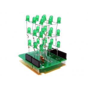 Cubo de leds 3x3x3 Arduino shield