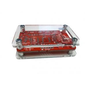 Caja de acrílico v1 (DP6037) para Bus Pirate v3.6