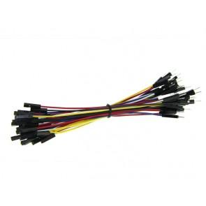 1 Pin hembra-Macho Cable de Puente 125mm (paquete de 50 piezas)