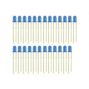 3mm LED Blue - 25 PCs