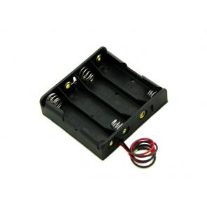 Caja para baterias 4xAA