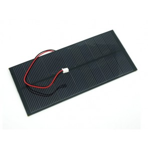 Panel Solar de 2 watts 80x180 mm