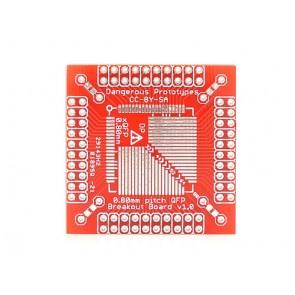 xQFP breakout board - 0.8 mm