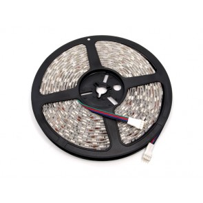 Tira de LED RGB impermeable flexible - 60 LED-(1m)