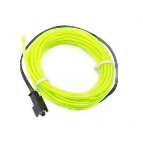Cable EL - 3m Verde