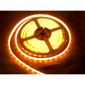 Tira de LEDs AMARILLOS flexible resistente al agua - 60 LEDs por metro