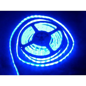 Tira flexible de LED azul impermeable - 60 LED - 1m