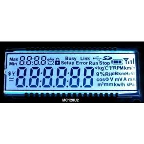 TN LCD omni propósito multi-segmento
